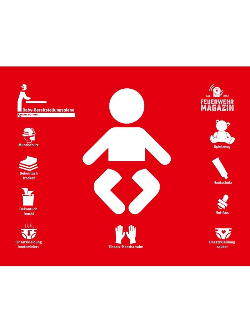 Produkt: Baby Bereitstellungsplane