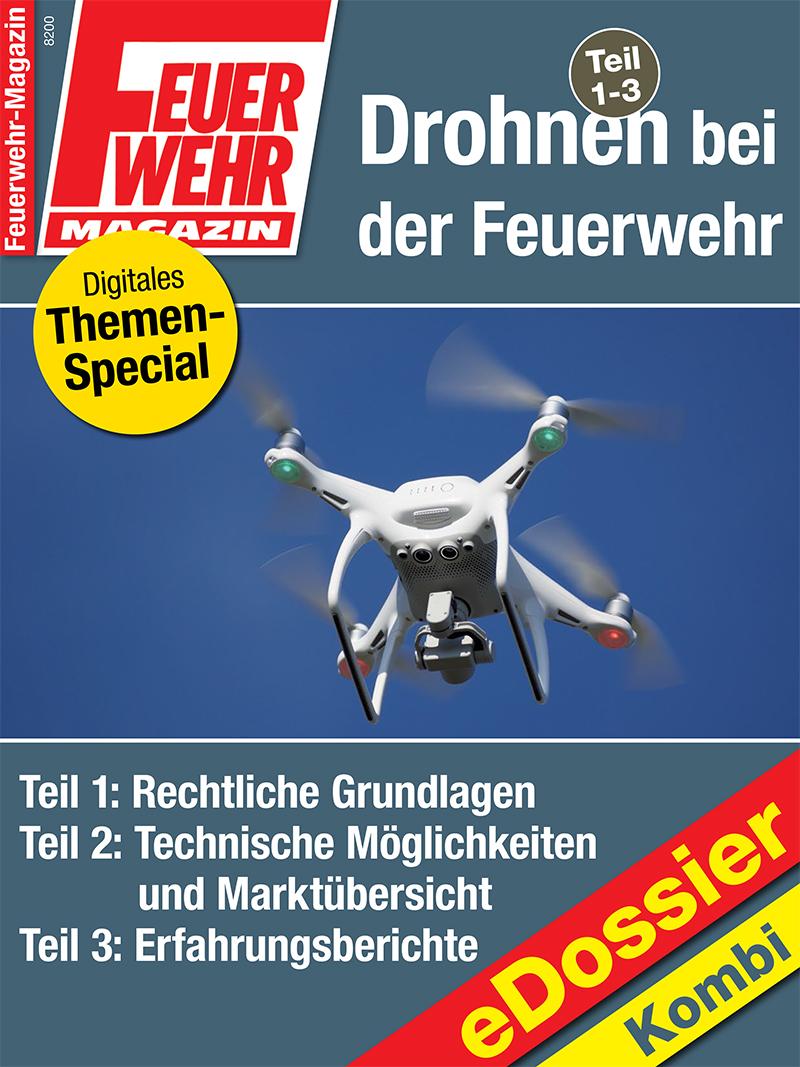 Produkt: Drohnen bei der Feuerwehr Teil 1 – 3