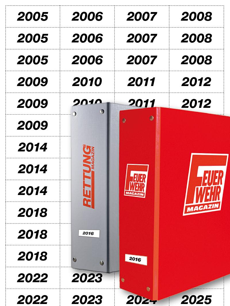 Produkt: Download Jahreszahlen für Sammelordner