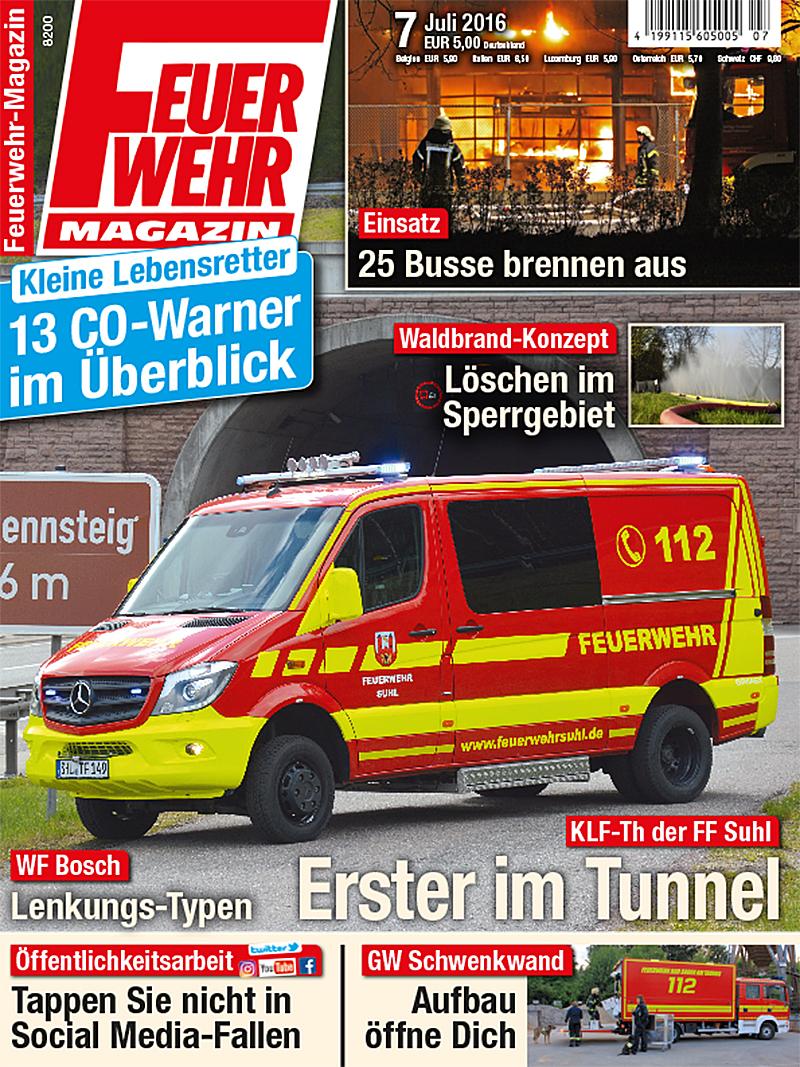Produkt: Feuerwehr-Magazin Digital 7/2016