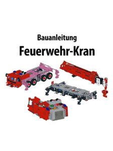 Produkt: Bauanleitung Feuerwehr-Kran
