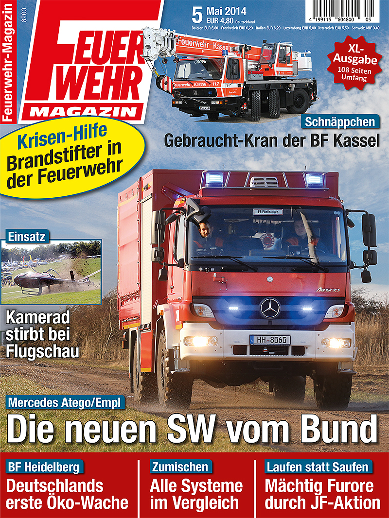 Produkt: Feuerwehr-Magazin 5/2014 Digital