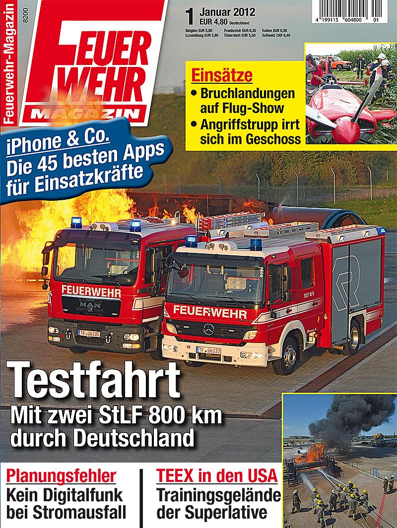 Produkt: Feuerwehr-Magazin Digital 1/2012