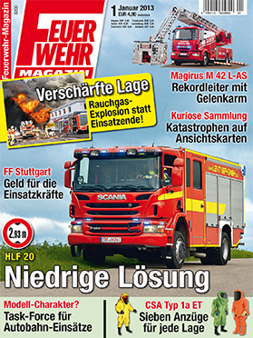 Produkt: Feuerwehr-Magazin Digital 1/2013