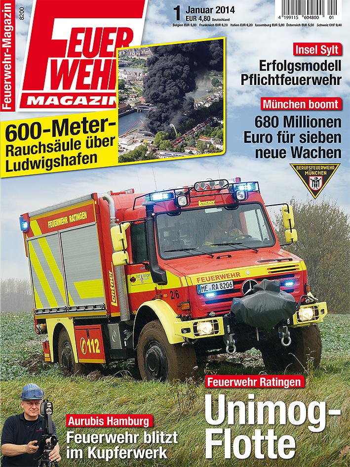 Produkt: Feuerwehr-Magazin 1/2014 Digital