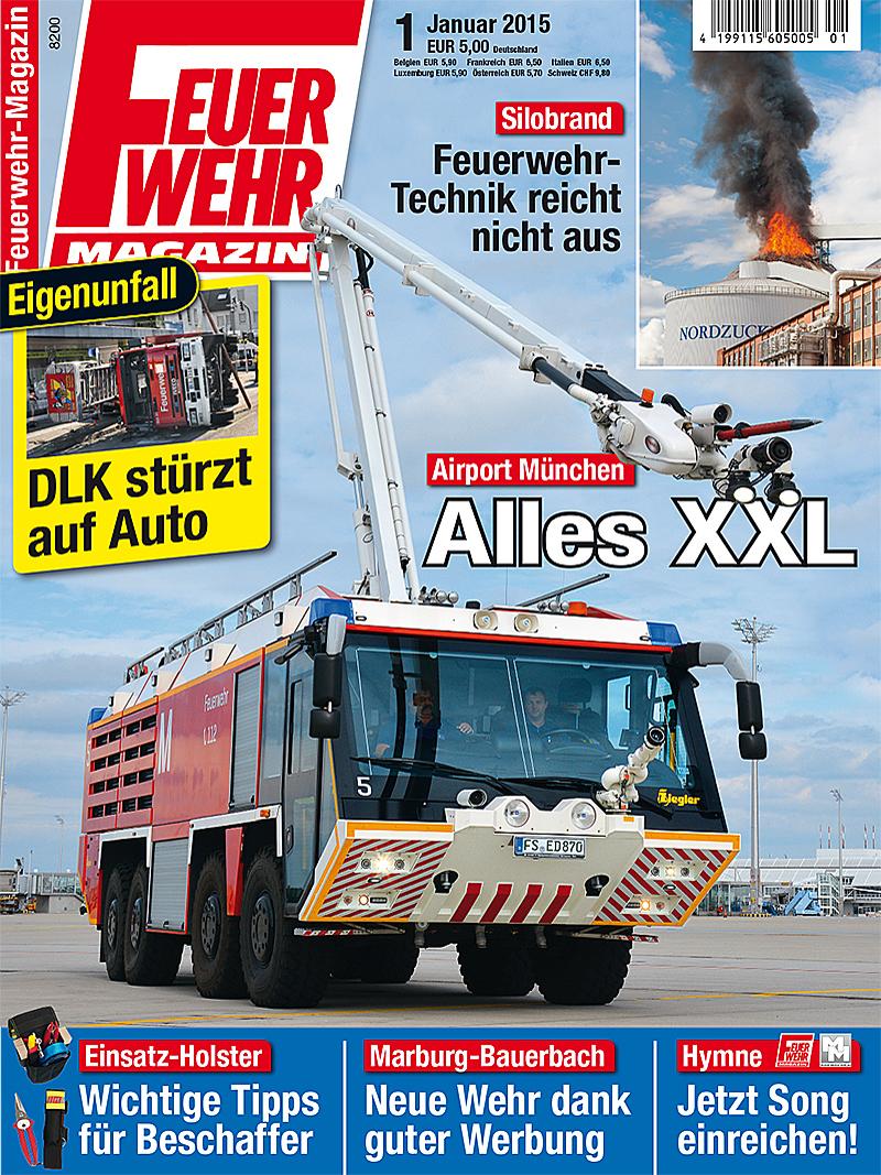 Produkt: Feuerwehr-Magazin Digital 1/2015