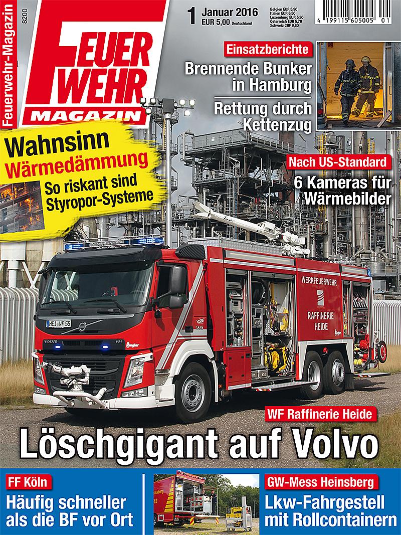Produkt: Feuerwehr-Magazin 1/2016 Digital