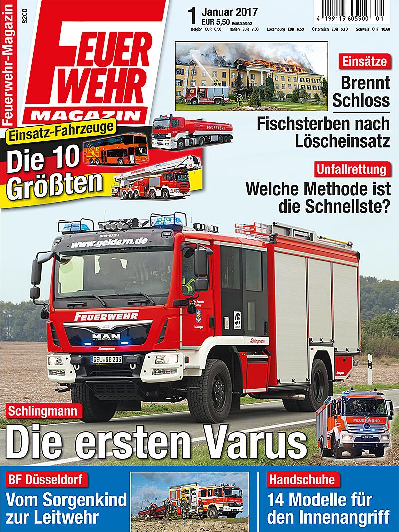Produkt: Feuerwehr-Magazin Digital 1/2017