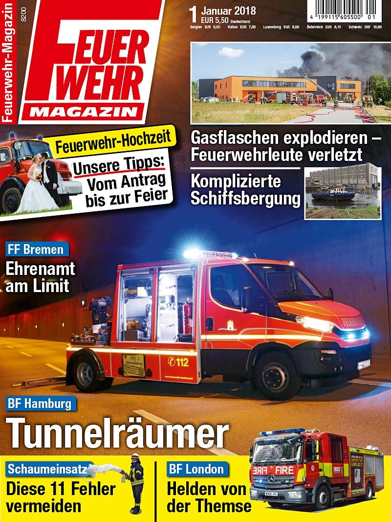 Produkt: Feuerwehr-Magazin Digital 01/2018