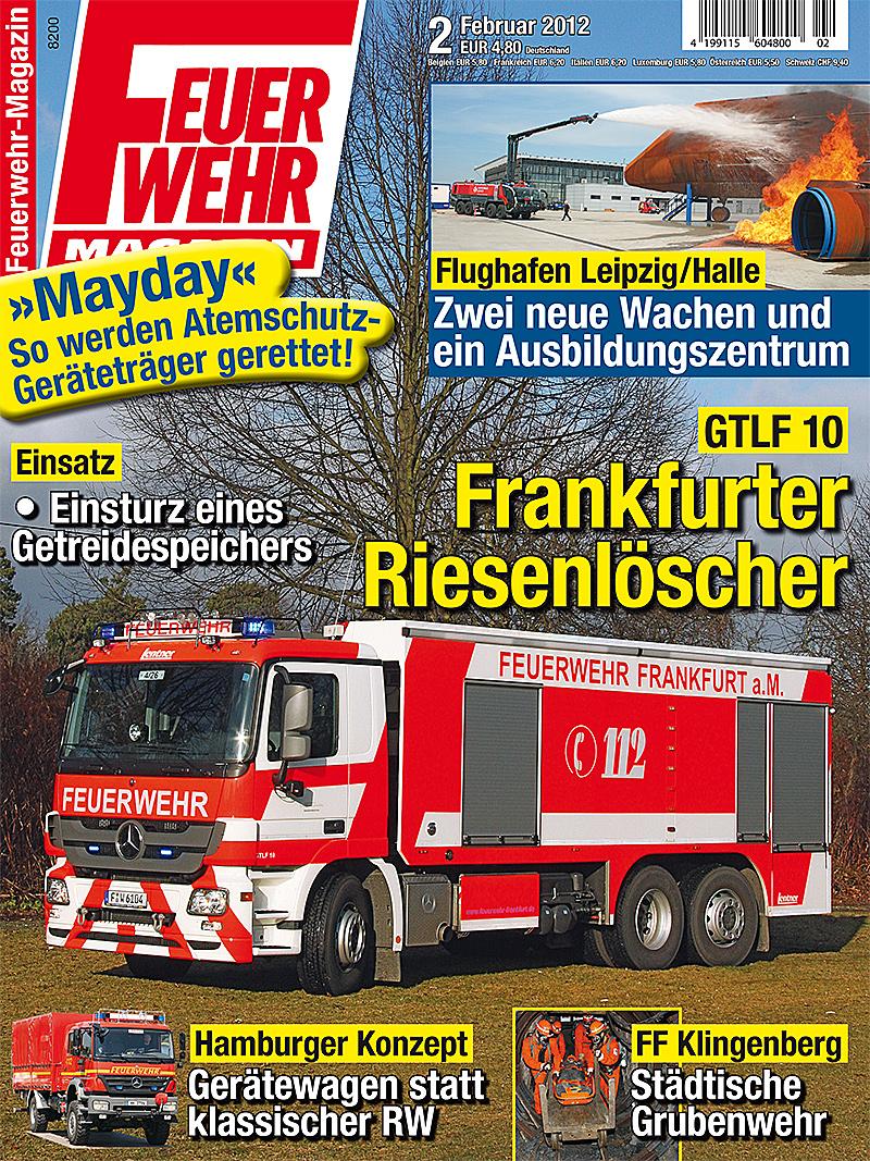 Produkt: Feuerwehr-Magazin Digital 2/2012