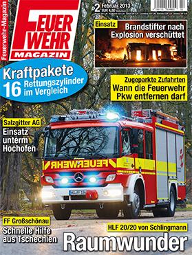 Produkt: Feuerwehr-Magazin Digital 2/2013