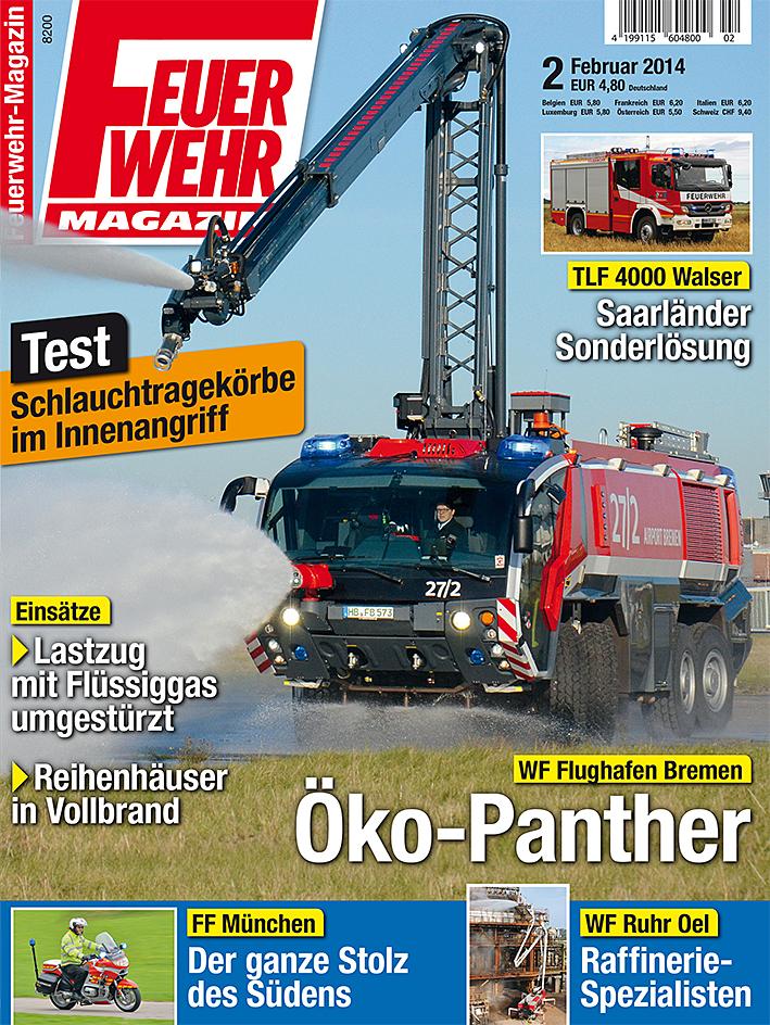 Produkt: Feuerwehr-Magazin 2/2014 Digital