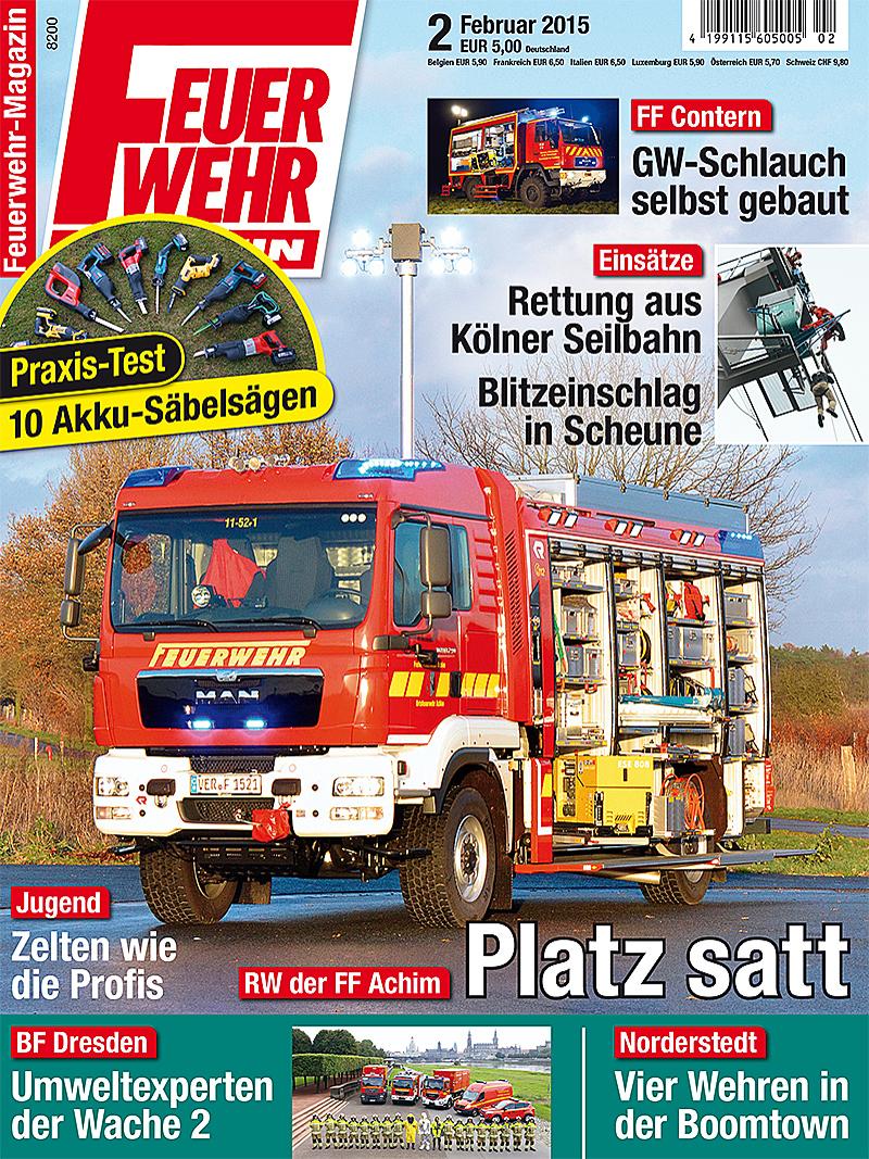 Produkt: Feuerwehr-Magazin Digital 2/2015