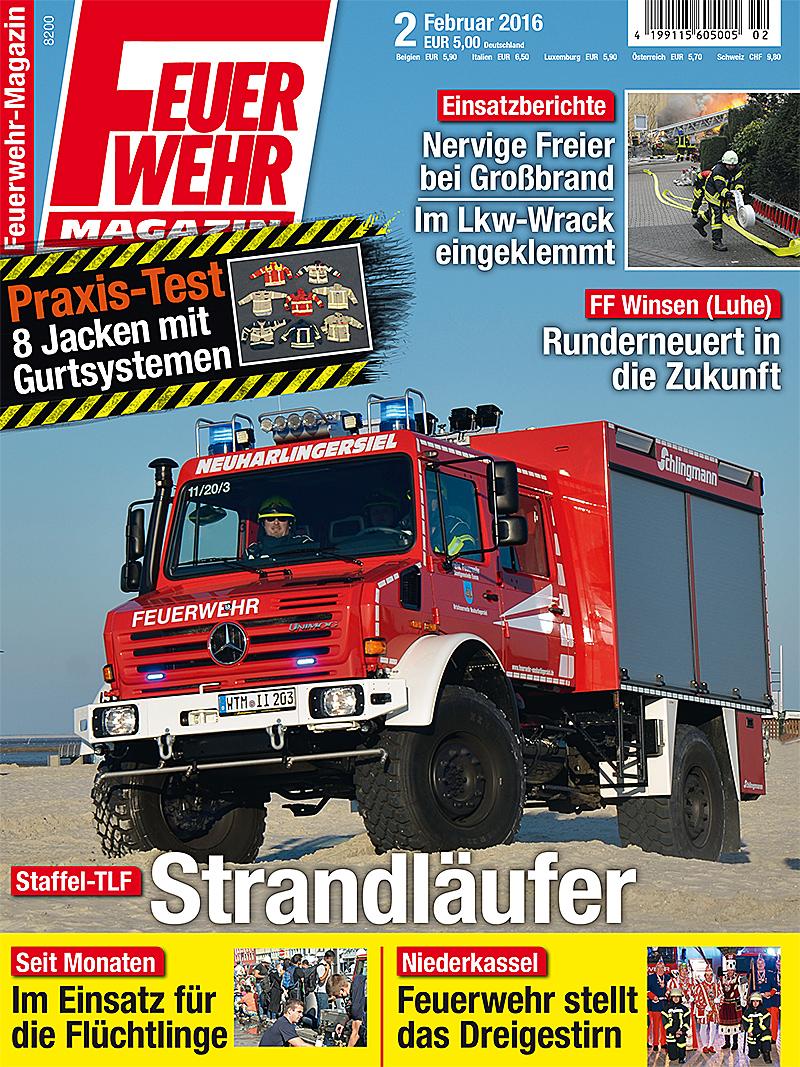 Produkt: Feuerwehr-Magazin 2/2016 Digital