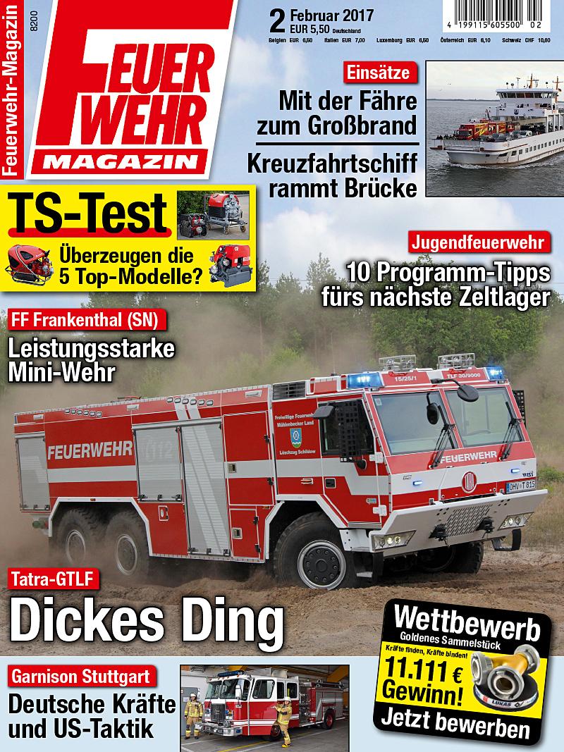 Produkt: Feuerwehr-Magazin 2/2017 Digital