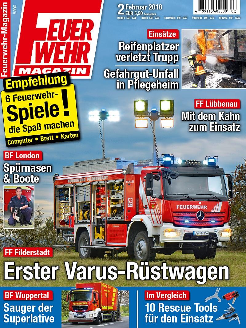 Produkt: Feuerwehr-Magazin Digital 02/2018