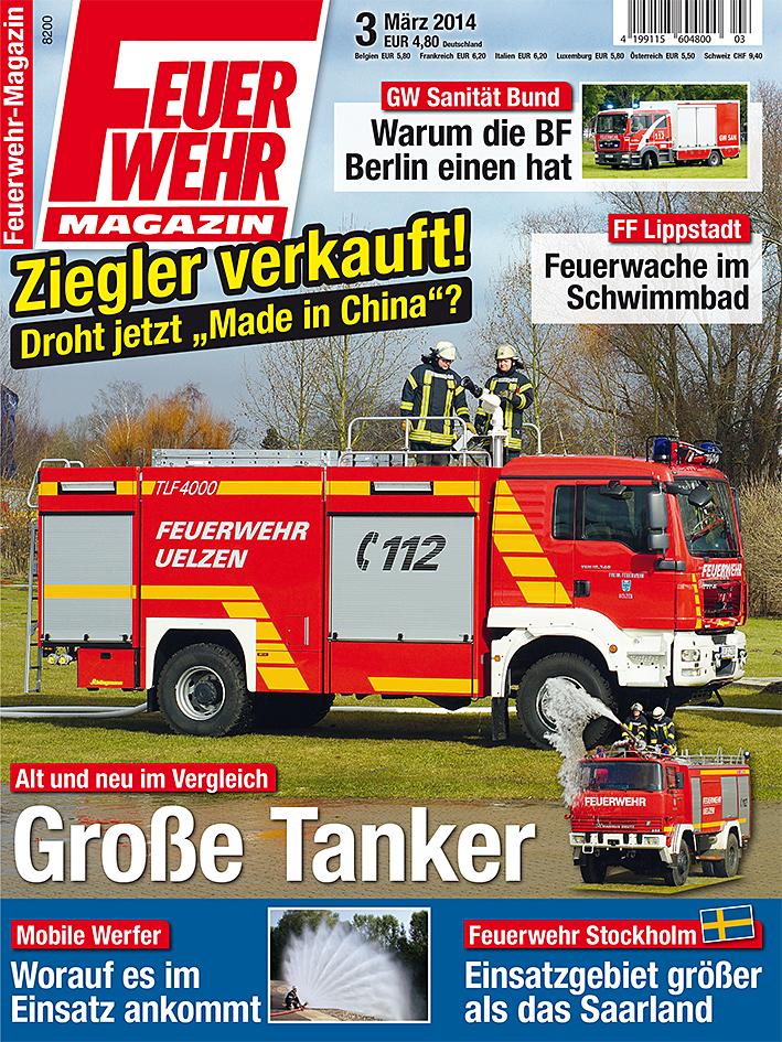 Produkt: Feuerwehr-Magazin Digital 3/2014