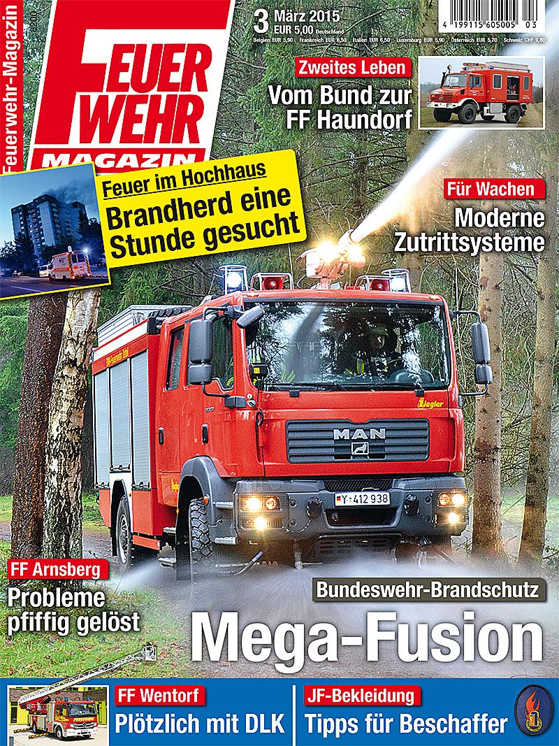 Produkt: Feuerwehr-Magazin Digital 3/2015