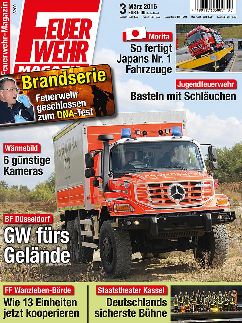 Produkt: Feuerwehr-Magazin Digital 3/2016