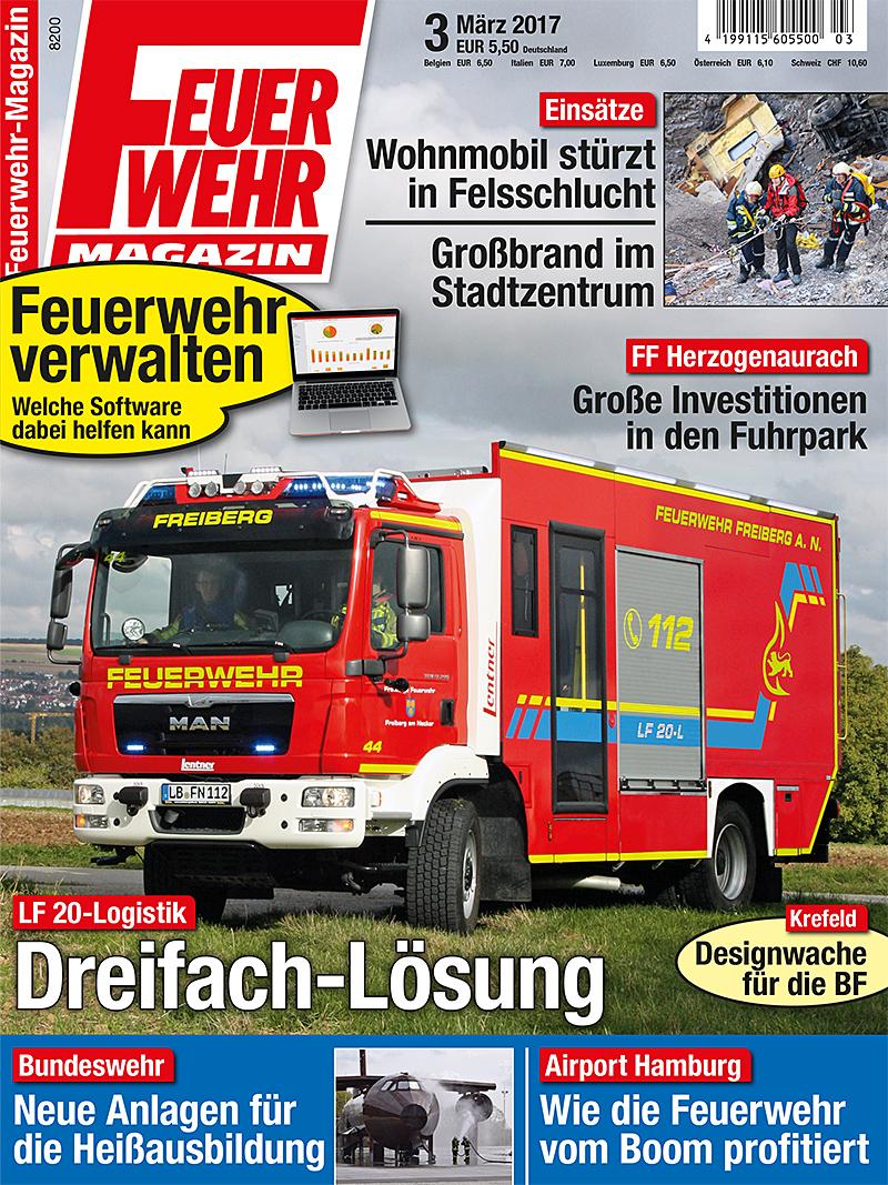 Produkt: Feuerwehr-Magazin Digital 3/2017