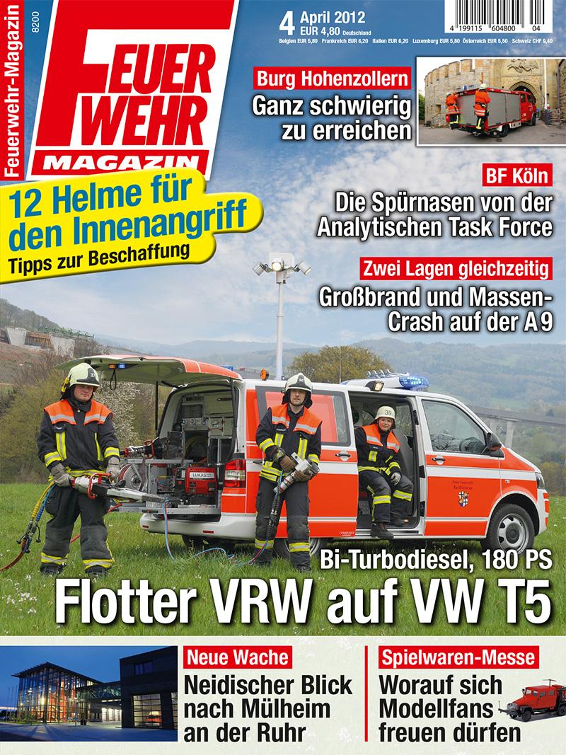 Produkt: Feuerwehr-Magazin Digital 4/2012