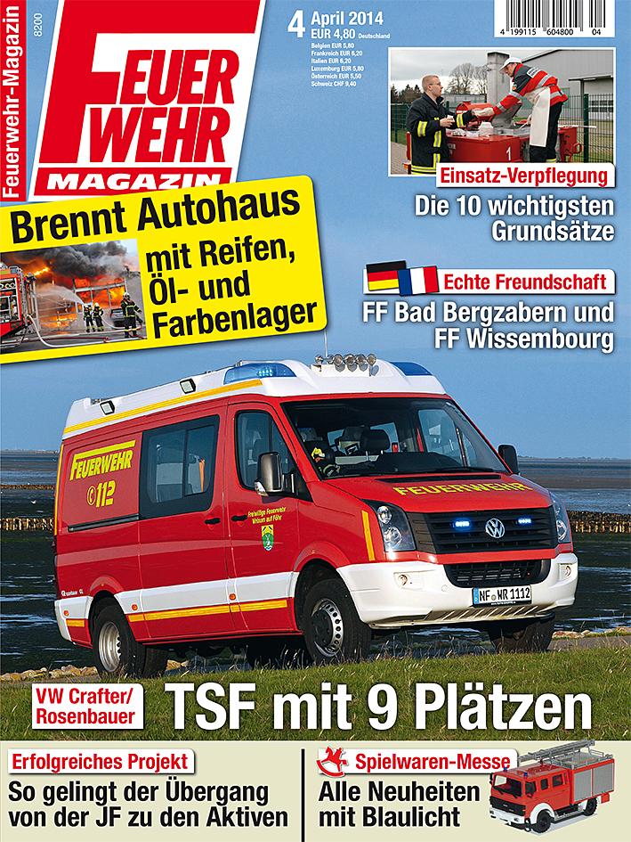Produkt: Feuerwehr-Magazin Digital 4/2014