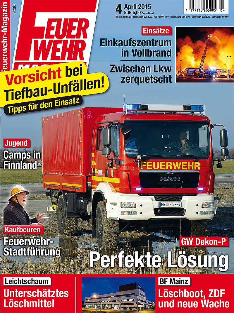 Produkt: Feuerwehr-Magazin Digital 4/2015