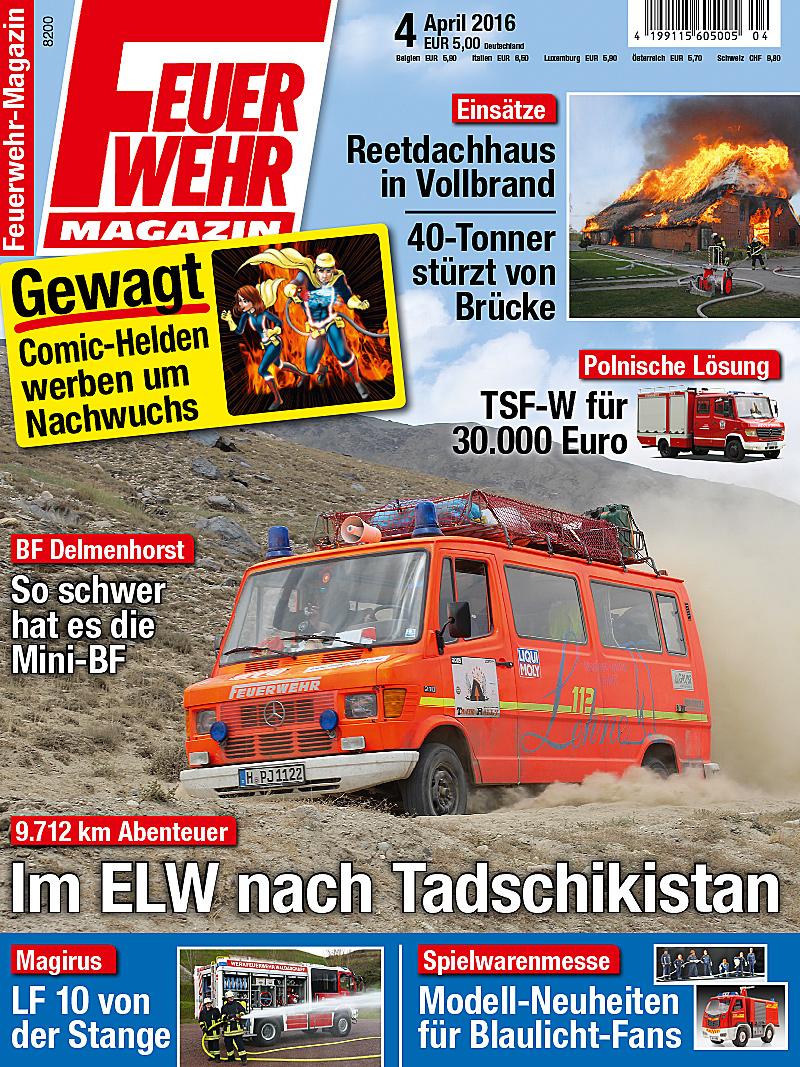 Produkt: Feuerwehr-Magazin Digital 4/2016