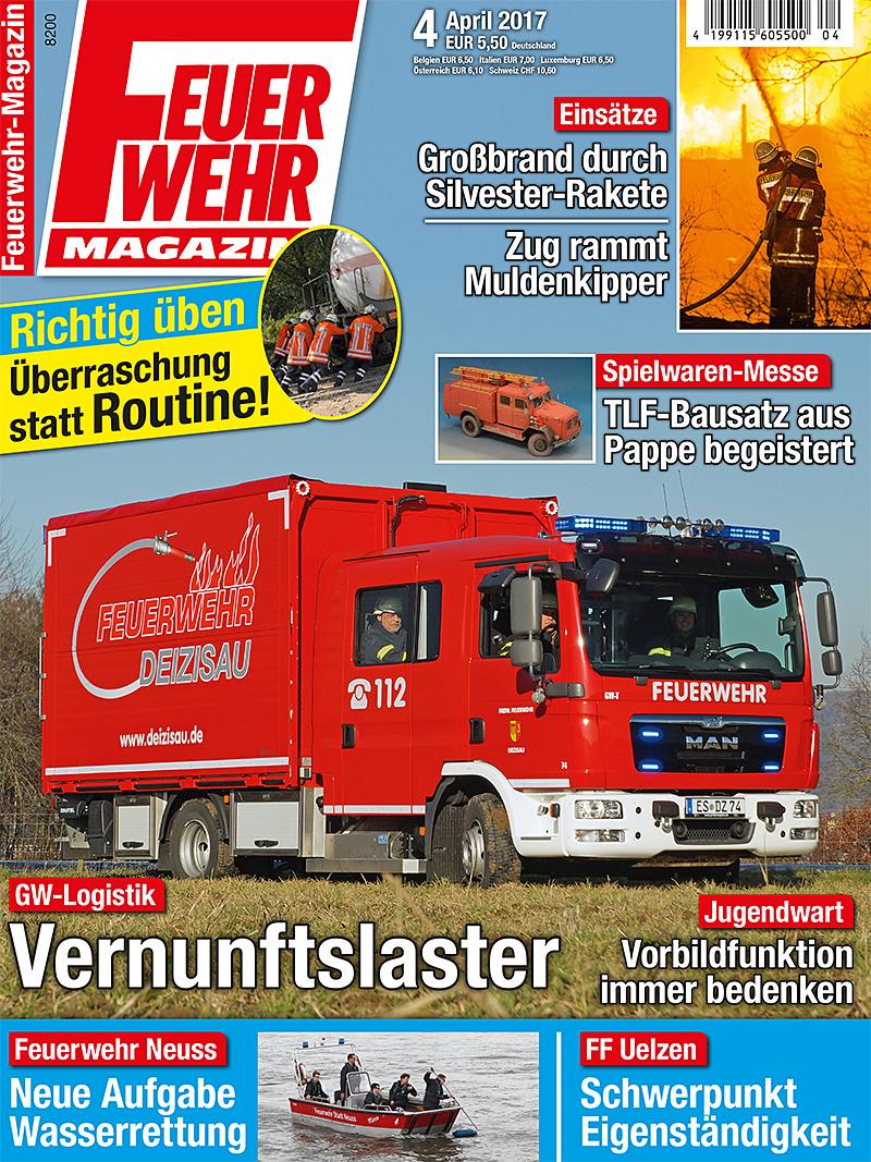 Produkt: Feuerwehr-Magazin 4/2017 Digital