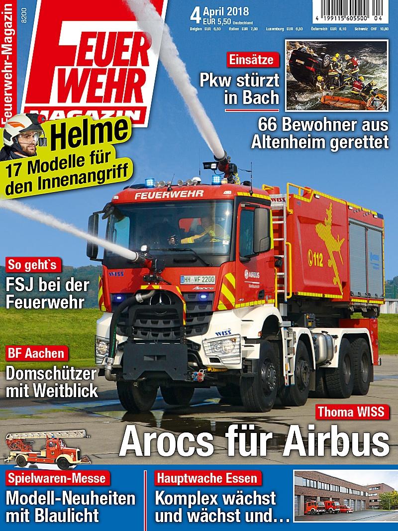 Produkt: Feuerwehr-Magazin Digital 04/2018