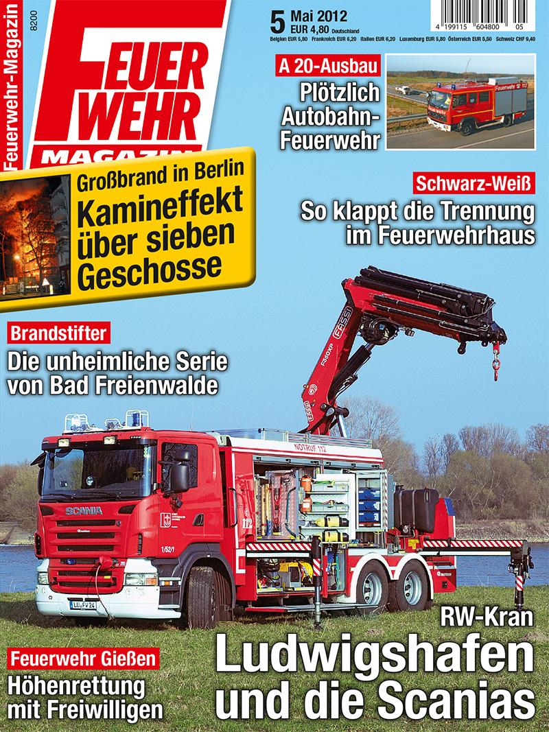 Produkt: Feuerwehr-Magazin Digital 5/2012