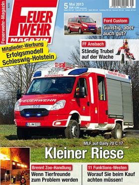 Produkt: Feuerwehr-Magazin Digital 5/2013