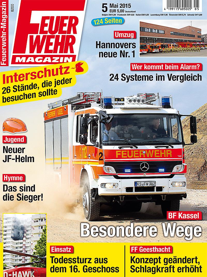 Produkt: Feuerwehr-Magazin 5/2015 Digital
