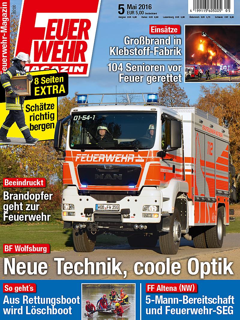 Produkt: Feuerwehr-Magazin Digital 5/2016