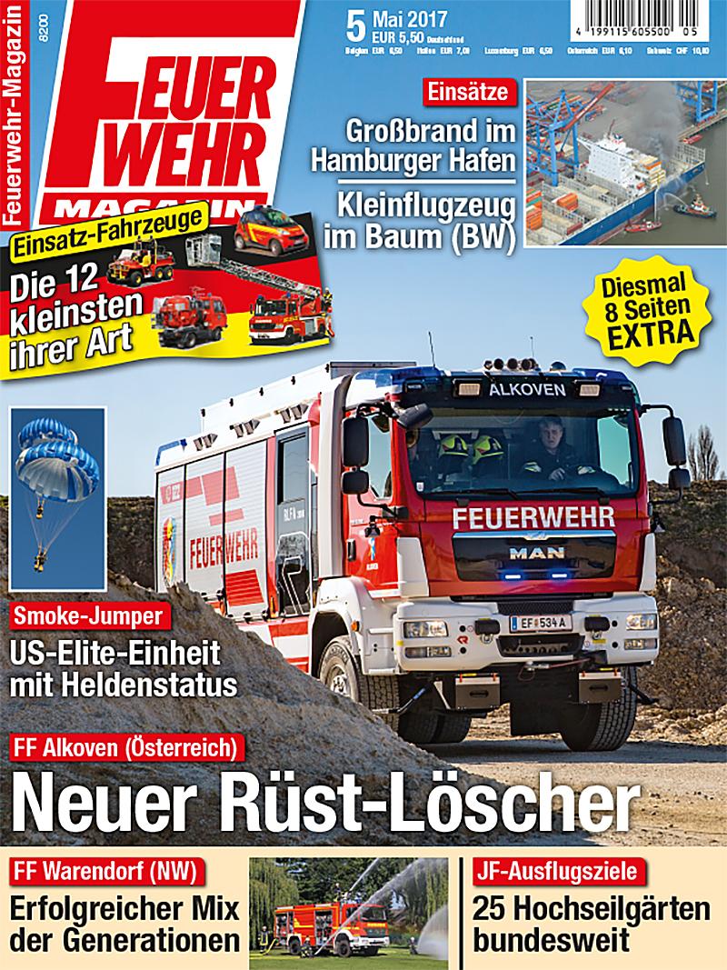 Produkt: Feuerwehr-Magazin Digital 5/2017
