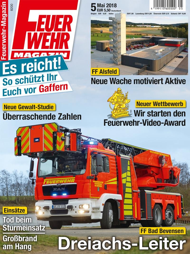 Produkt: Feuerwehr-Magazin Digital 05/2018