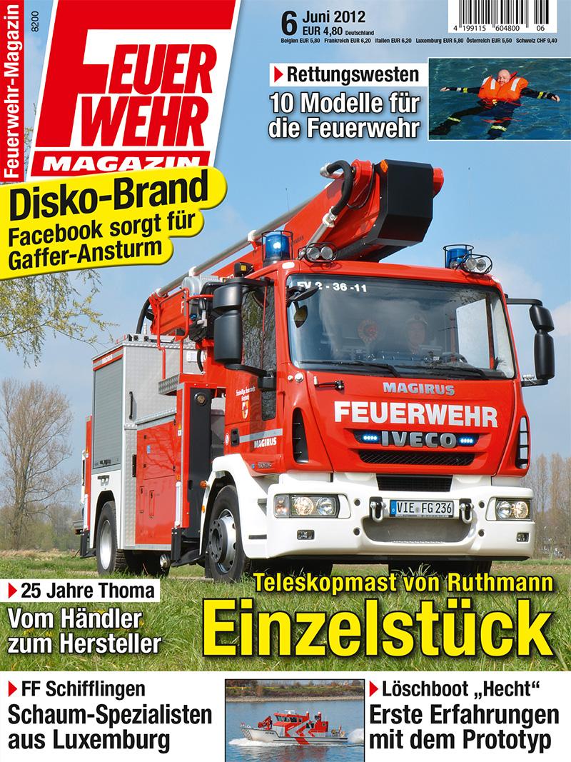 Produkt: Feuerwehr-Magazin Digital 6/2012