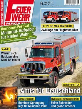 Produkt: Feuerwehr-Magazin Digital 6/2013