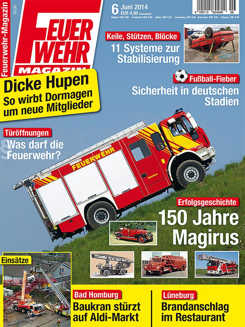Produkt: Feuerwehr-Magazin 6/2014 Digital