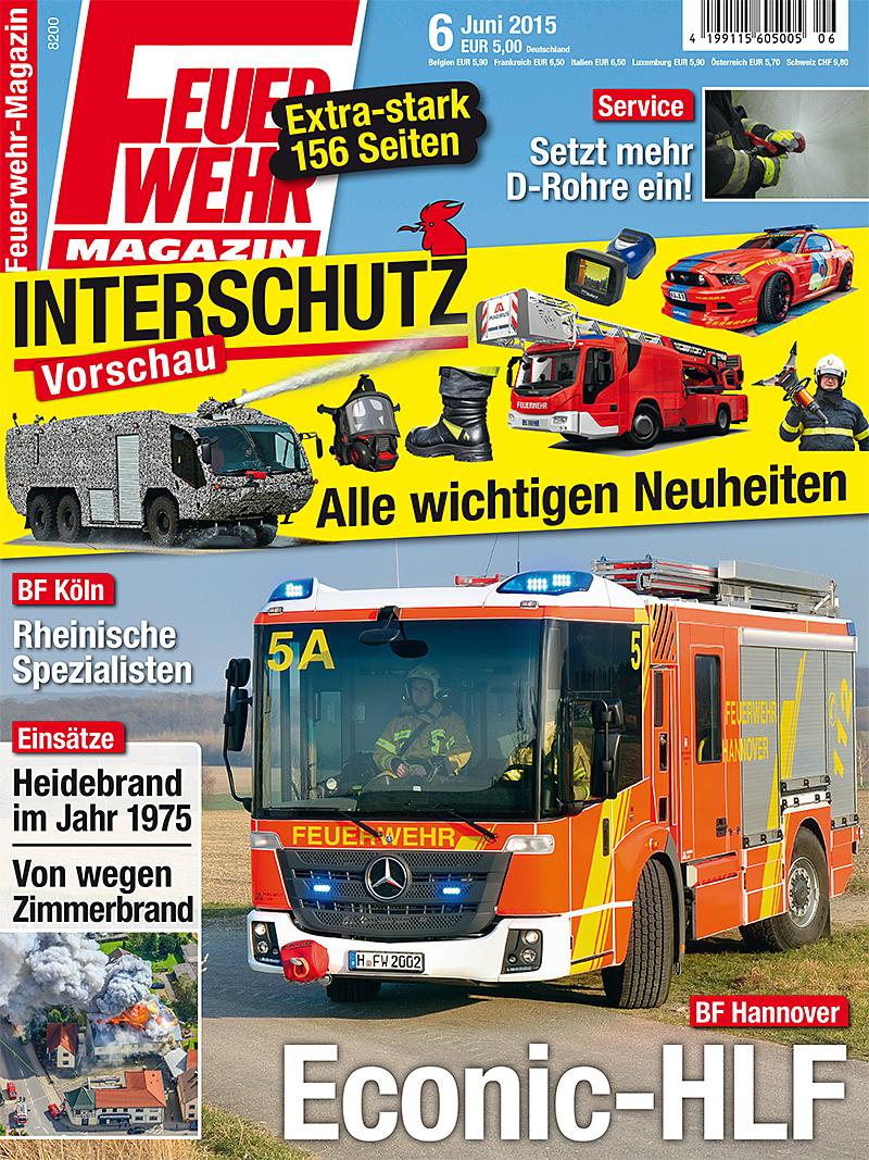 Produkt: Feuerwehr-Magazin Digital 6/2015