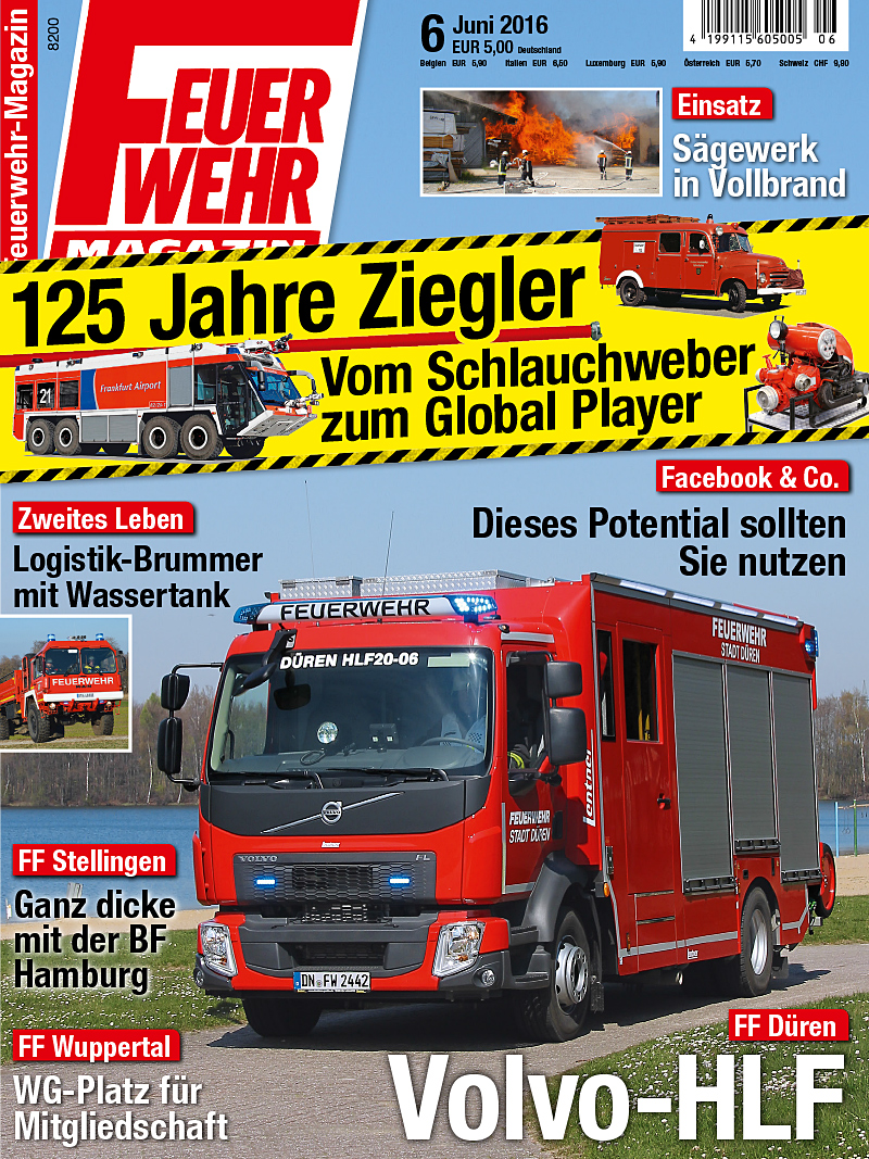 Produkt: Feuerwehr-Magazin Digital 6/2016