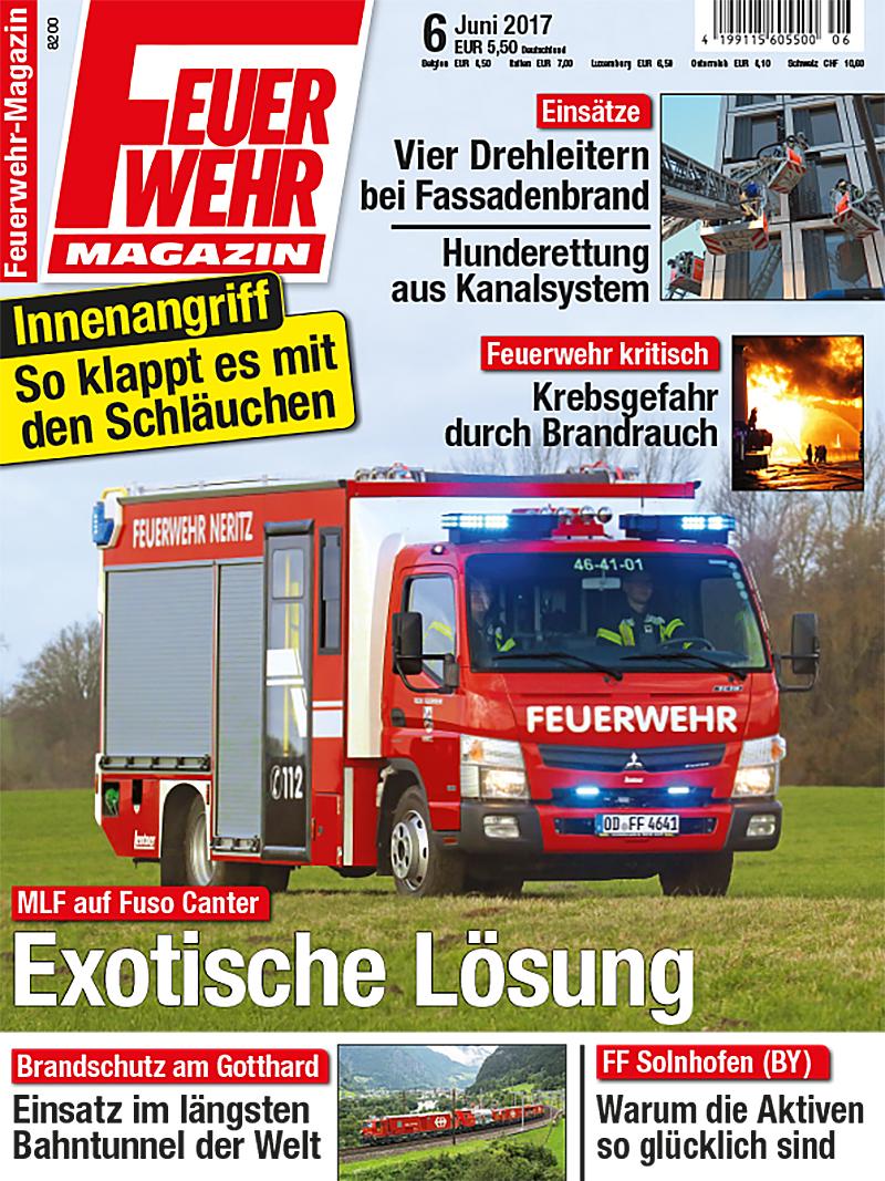 Produkt: Feuerwehr-Magazin Digital 6/2017