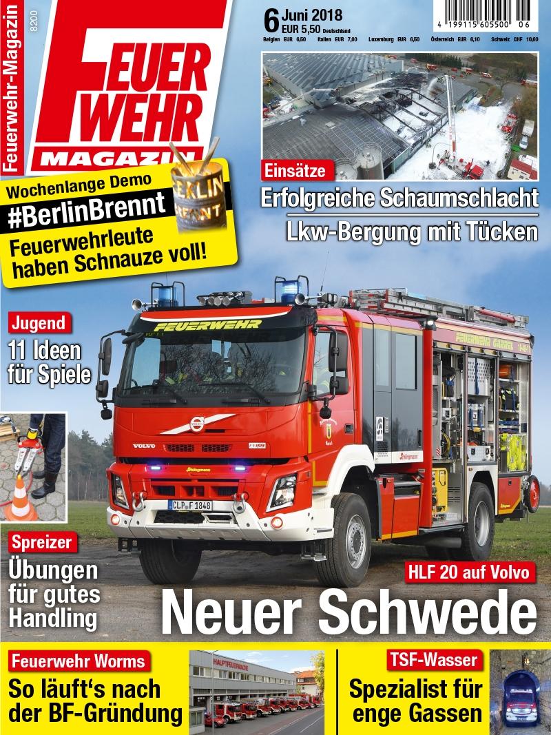 Produkt: Feuerwehr-Magazin Digital 06/2018