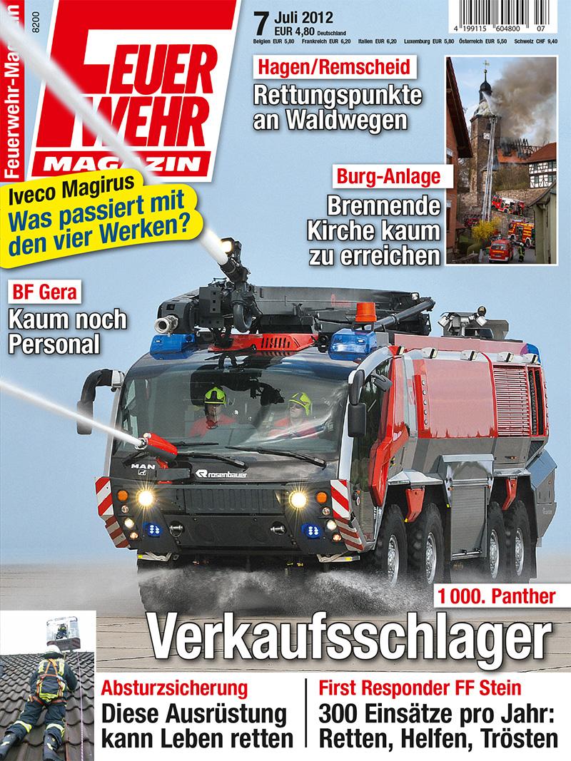 Produkt: Feuerwehr-Magazin Digital 7/2012