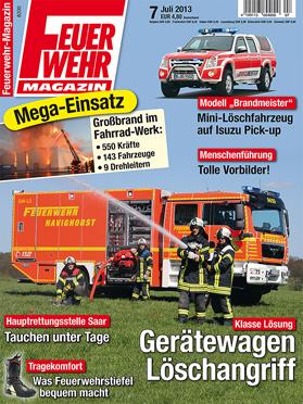 Produkt: Feuerwehr-Magazin Digital 7/2013