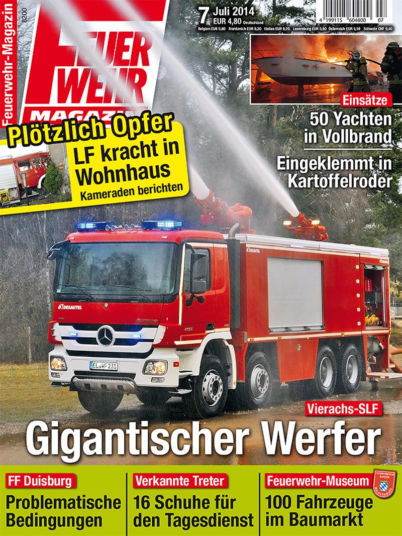 Produkt: Feuerwehr-Magazin Digital 7/2014