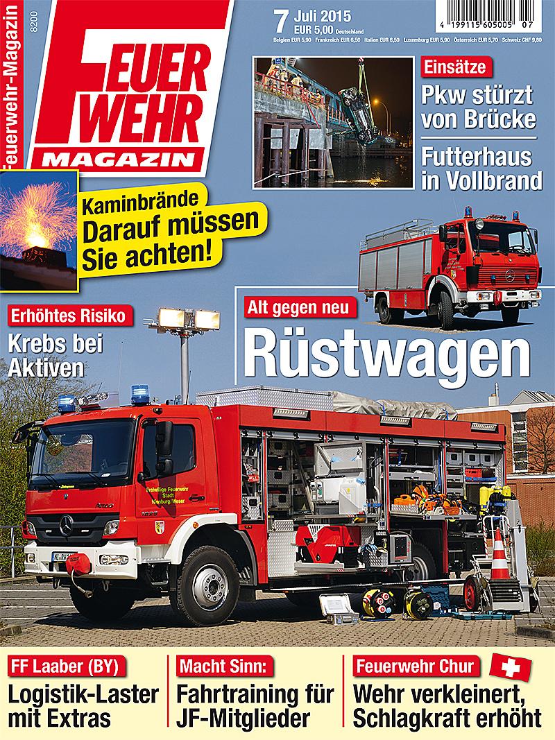 Produkt: Feuerwehr-Magazin Digital 7/2015