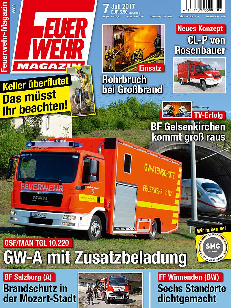 Produkt: Feuerwehr-Magazin Digital 7/2017