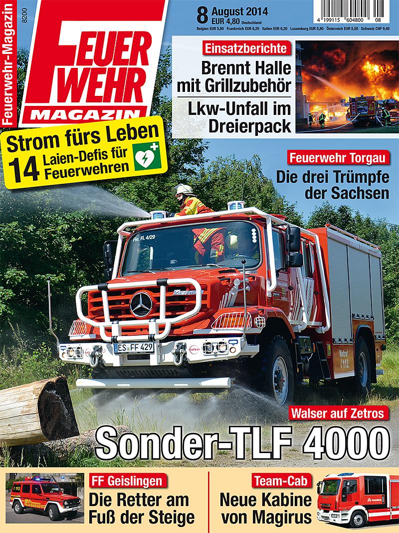 Produkt: Feuerwehr-Magazin Digital 8/2014