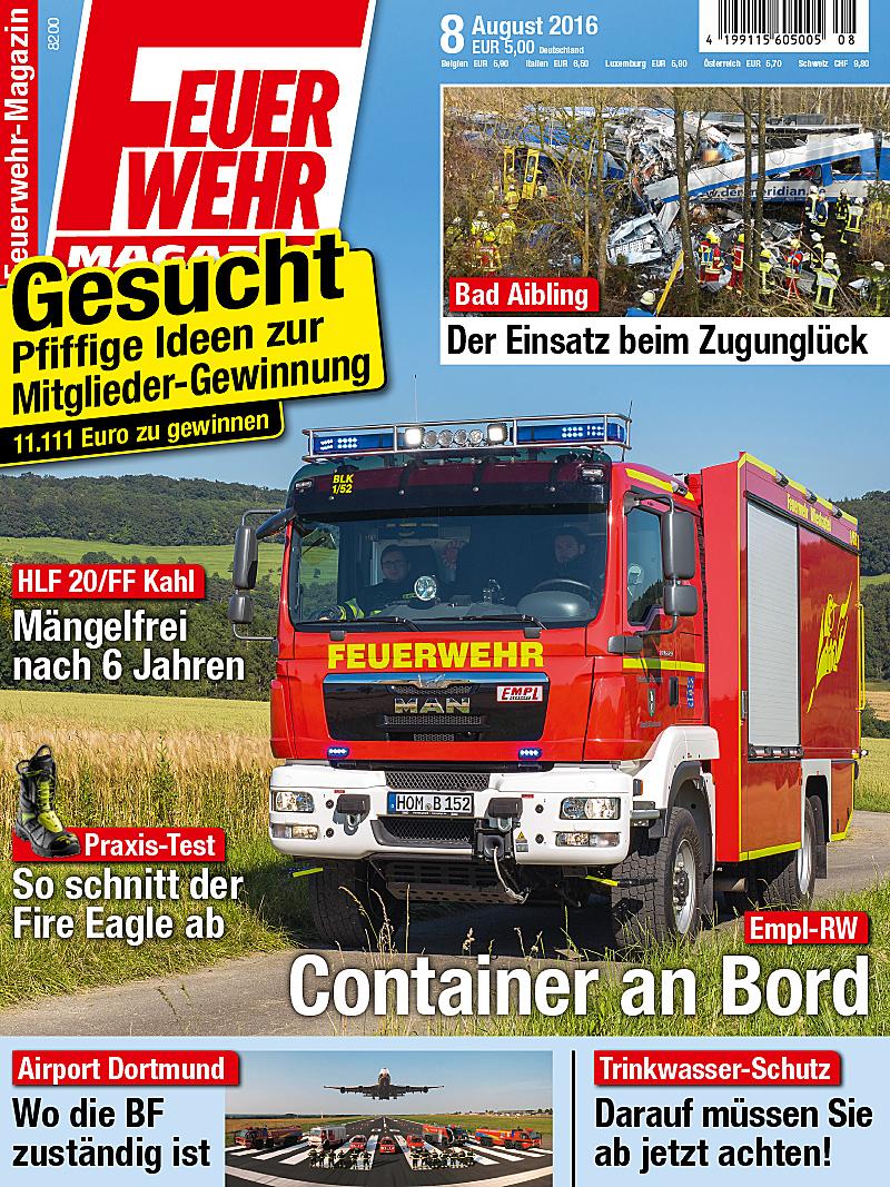 Produkt: Feuerwehr-Magazin Digital 8/2016